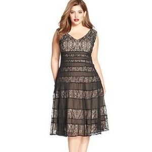 Anne Klein Lace A-Line Dress